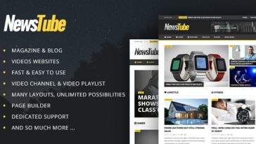 Download NewsTube - Magazine Blog & Video Free