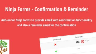 Download Ninja Forms Confirmation & Reminder - Free Wordpress Plugin