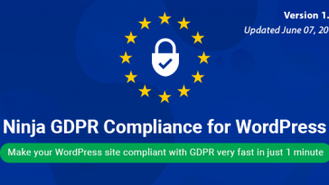 Download Ninja GDPR Compliance 2018 for WordPress  - Free Wordpress Plugin
