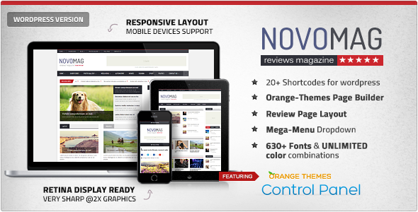 Download Novomag - News Magazine Theme Free