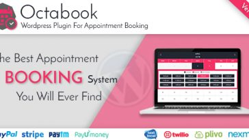 Download Octabook appointment scheduling software system for wordpress  - Free Wordpress Plugin