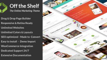 Download Off the Shelf v.1.6.0 - Online Marketing WordPress Theme Free