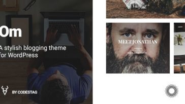 Download OM - A stylish blogging theme for WordPress Free