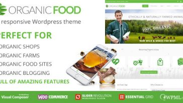 Download Organic Food - Ecology & Environmental, Store & Bakery WooCommerce, Responsive WordPress Theme Free