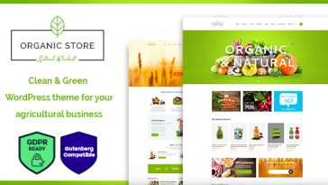 Download Organic Store - Organic Food & Eco Products WordPress Theme + RTL Free