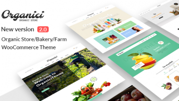 Download Organici - Organic Store & Bakery WooCommerce Theme Free