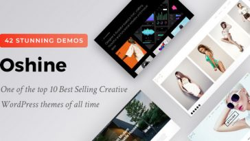Download Oshine v.6.5.2 - Multipurpose Creative Theme Free