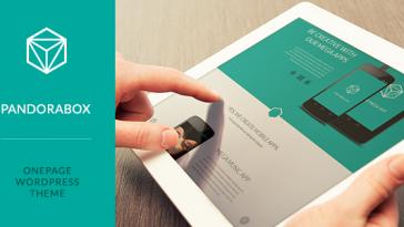 Download Pandora Box - Onepage Wordpress Template Free