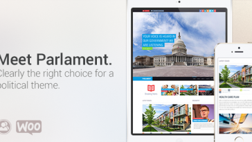 Download Parlament - Political WordPress Theme Free