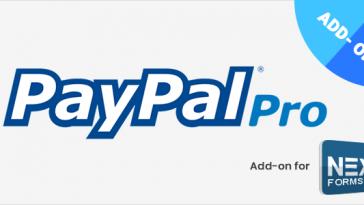Download PayPal Pro for NEX-Forms  - Free Wordpress Plugin