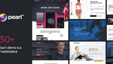 Download Pearl Business - Corporate Business WordPress Theme for Company and Businesses Free