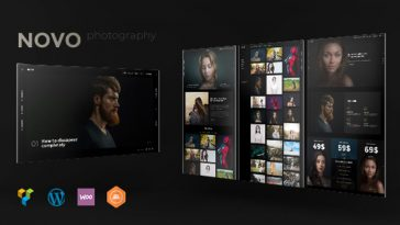 Download Photography v.5.5.4 - Novo Photography WordPress for Photography Free