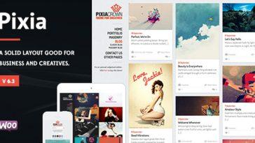Download Pixia - Showcase WordPress Theme Free