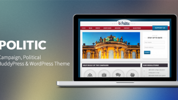Download Politic - Campaign, Political WP & BuddyPress Theme Free