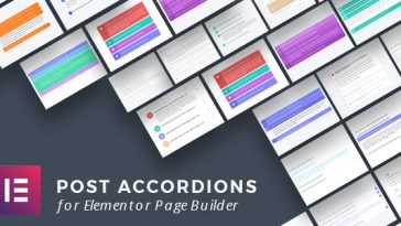 Download Post Accordions for Elementor Page Builder  - Free Wordpress Plugin