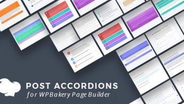 Download Post Accordions for WPBakery Page Builder (Visual Composer)  - Free Wordpress Plugin