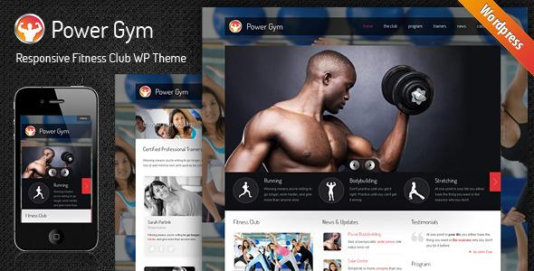 Download Power Gym - Responsive Wordpress Theme Free