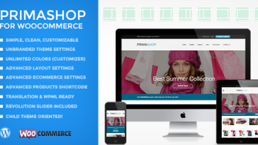 Download PrimaShop - Clean WooCommerce WordPress Theme Free