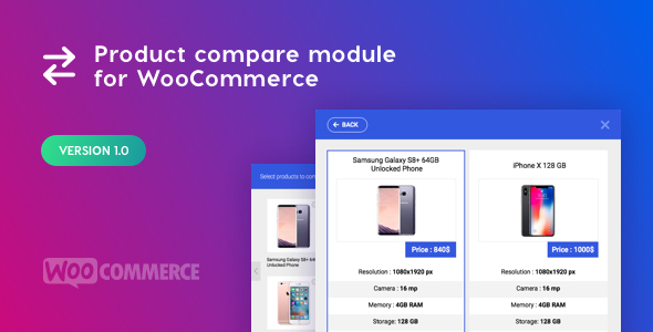 Download Product Compare Module for WooCommerce  - Free Wordpress Plugin