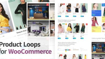 Download Product Loops for WooCommerce 100+ Awesome styles and options for your WooCommerce products - Free Wordpress Plugin