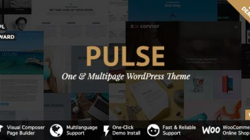 Download Pulse v.5.5.1 - Premier WordPress Theme Free