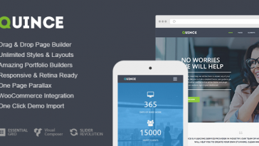Download Quince - Modern Business Theme Free