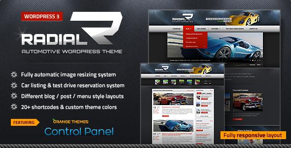 Download Radial - Premium Automotive & Tech WordPress Theme Free