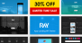 Download Ray v.1.0.5 - App Responsive WordPress Theme Free