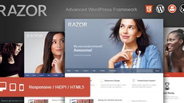 Download Razor - Cutting Edge WordPress Theme Free