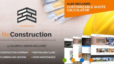 Download ReConstruction v.1.2.1 - Construction & Building Business Free