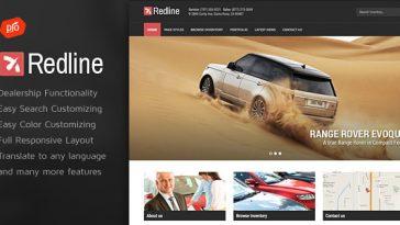 Download Redline v.4.3 - Car Dealership Wordpress Theme Free
