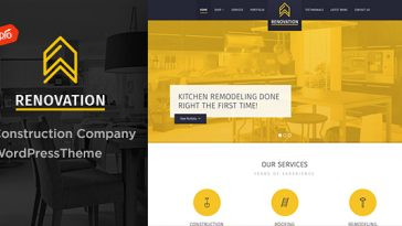 Download Renovation v.3.1 - Construction Company Theme Free