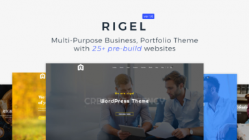 Download Rigel v.1.6.1 - Multi-Purpose Business Portfolio Theme Free