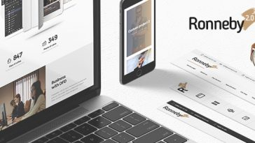 Download Ronneby v.2.4.1 - High-Performance WordPress Theme Free