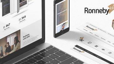 Download Ronneby v.2.4.1 - High-Performance WordPress Theme Free