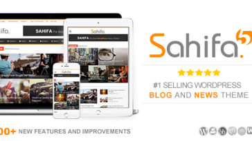 Download Sahifa - Responsive WordPress News / Magazine / Blog Theme Free