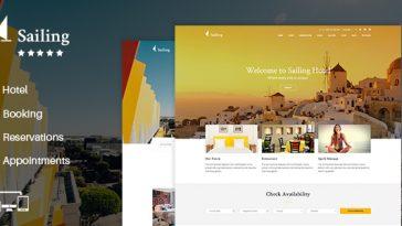 Download Sailing v.2.2 - Hotel WordPress Theme Free