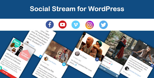 Download Saragna Social Stream WordPress - Free Wordpress Plugin
