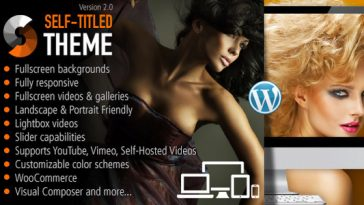 Download Self Titled - Responsive WordPress Theme Free