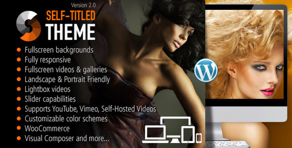 Download Self Titled - Responsive WordPress Theme Free