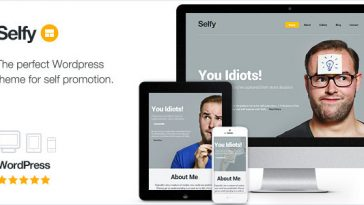 Download Selfy - Responsive & Retina Ready WordPress Theme Free