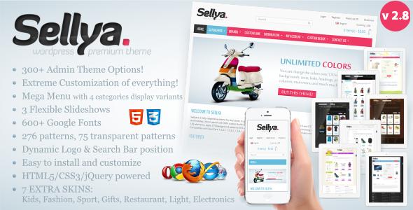 Download Sellya v.2.6.3 - Responsive WooCommerce Theme Free