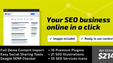 Download SEO WP - WordPress Theme for Digital Marketing Agency, Social Media & SEO Company Free