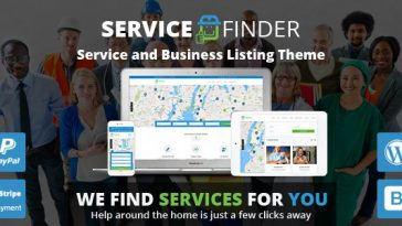 Download Service Finder - Provider and Business Listing WordPress Theme Free