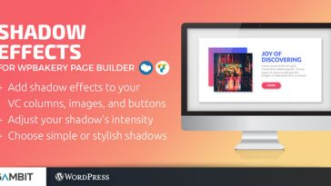 Download Shadow Effects for WPBakery Page Builder (formerly Visual Composer)  - Free Wordpress Plugin