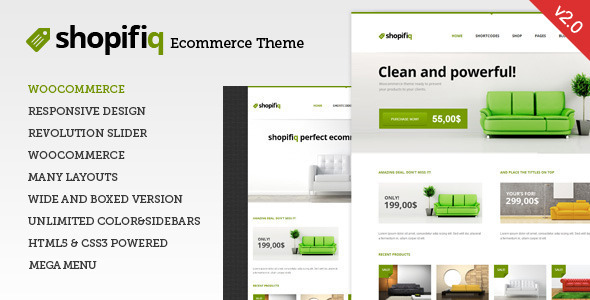 Download Shopifiq v.3.3. - Responsive WordPress WooCommerce Theme Free