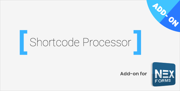 Download Shortcode Processor for NEX-Forms  - Free Wordpress Plugin