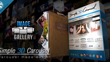 Download Simple 3D Carousel Wordpress Plugin  - Free Wordpress Plugin