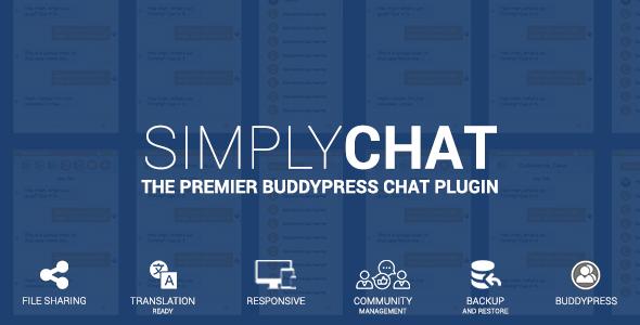 Download SimplyChat for BuddyPress   – Free WordPress Plugin