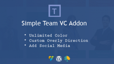 Download Simple Team VC Addon  - Free Wordpress Plugin